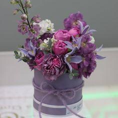 Лиловая радость #anflor_flowerbox#лиловый#аnflor#доставкацветов#доставкацветовбрест#