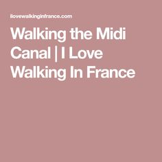 Shaded by plane trees, the section of the Midi Canal from Toulouse to the medieval city of Caracssonne offers an easy walk. By Plane, Easy 5, Mediterranean Sea, Walking, France, My Love, Walks, Hiking, French