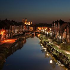 Beverley, East Yorkshire by Night