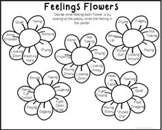 Feeling/Emotions Worksheets and Foldable Activities