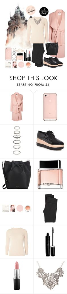 """Untitled #415"" by mayer-fruzsina ❤ liked on Polyvore featuring L.K.Bennett, Forever 21, Mansur Gavriel, Givenchy, Korres, Paige Denim, Dorothy Perkins, Marc Jacobs, MAC Cosmetics and Olivia Burton"