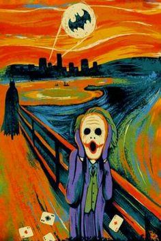 Batman Joker Scream Cross Stitch Pattern - Batman Funny - Funny Batman Meme - - Batman Joker Scream Cross Stitch Pattern The post Batman Joker Scream Cross Stitch Pattern appeared first on Gag Dad. Joker Batman, Joker Art, Funny Batman, Le Cri Munch, Arte Pink Floyd, Joker Kunst, Bakugou Manga, Univers Dc, Arte Disney