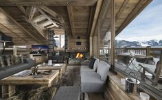 Luxury Ski Chalet, Chalet M, Courchevel 1550, France, France (photo#8795)