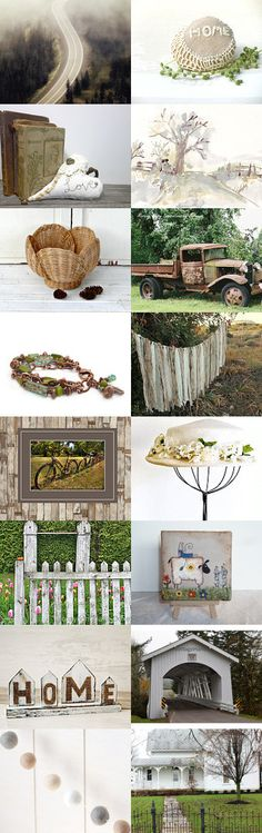 The Long Road Home by Nancy on Etsy--Pinned with TreasuryPin.com
