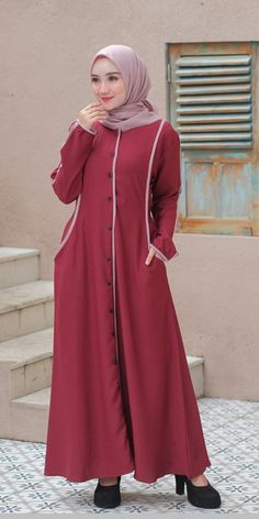 Abaya Style, Abaya Fashion, Kebaya, Dresses, Gowns, Dress, Day Dresses, Kebaya Muslim, Clothing