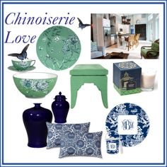 """""""Chinoiserie Love"""" by therelishedroost on Polyvore"""