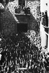 Spain - 1936. - GC - Cáceres, 6 de septiembre de 1936. Vista panorámica de la manifestation