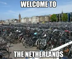 To the guy that uploaded the 'Denmark in a nutshell. Bike Meme, Dutch Netherlands, Netherlands Facts, Funny Memes, Jokes, It's Funny, Hilarious, Dutch People, Teaching Geography