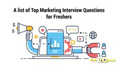 A List of Top Marketing Interview Questions for Freshers Marketing Interview Questions, Interview Questions And Answers, Tricky Questions, The Marketing, Question And Answer, List, Blog, Blogging
