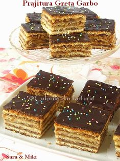 Romanian Desserts, Romanian Food, Strudel, Biscuits, Delicious Desserts, Sweet Treats, Good Food, Food And Drink, Sweets