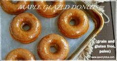 Confession time: I may have had to make these donuts twice because I didn't have the patience to wait until morning to take my photos. I couldn't resist. Can't say that I have been much of a donut eater in my life, but after making these Grain Free Maple Glazed Donuts, I'm hooked. These wildly …