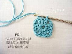 Tutorial Simple Square de ganchillo