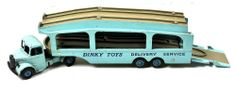 Dinky Toys 582 PULLMORE CAR TRANSPORTER Delivery Service vintage Diecast Truck