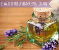 Easy Homesteading: 25 Ways To Use Lavender Essential Oil