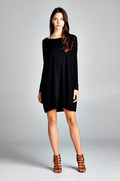 Tilly Tunic - Black from Vinnie Louise