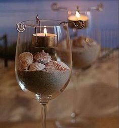Mais um lindo arranjo para decorar sua festa de casamento na praia!!!!