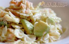 Salade de Pâtes, Saumon, Aneth et Avocat