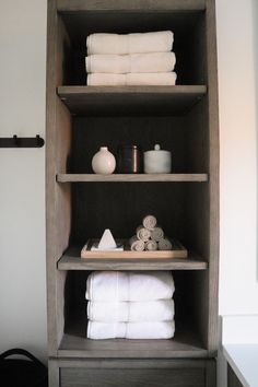 minimalist black and white bathroom Black And White Master Bathroom, White Bathroom, Restoration Hardware Outlet, Marble Showers, Linen Cabinet, Bathroom Goals, H&m Home, Black Candles, Under Cabinet Lighting