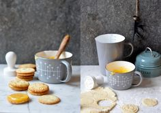 Earl Grey sušenky s lemon curd Foto: Xmas Cookies, Earl Gray, Lemon Curd, No Bake Desserts, Crackers, Yogurt, Biscuits, Brunch, Pudding