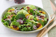 Citrus Salad with Bacon &  Red Onion recipe