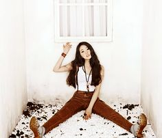 Awesome photoshoot and maroon pants