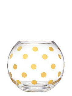 pearl place rosebowl, gold