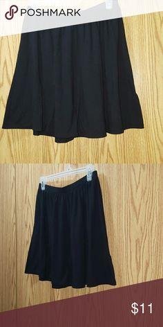 Old Navy Black Skater Skirt Super Cute Simple Black Skirt Size Sm Old Navy Skirts Circle & Skater