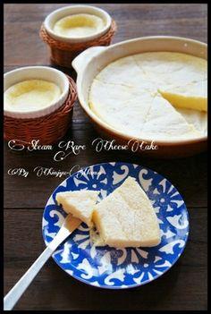 [簡単!混ぜてフライパンで20分蒸すだけ!] とろける♪生チーズケーキ レシピブログ