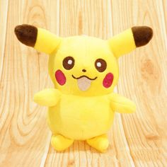 Pokemon Pocket Monster Character Plush Stuffed Toy Pikachu Soft Doll toys 6Inch #UnbrandedGeneric