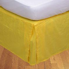 "650 TC Solid Cotton SPLIT Corner Ruffle Bed Skirt All Size Drop 24/"" 25/"" 26/"" New"