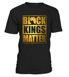 Get your hands on this faux printed gold empowering mens afrocentric tshirt which stands for Black Kings Matter, Black Lives Matter, Melanin, African Pride, Black and Educated. for a loose fit please order a size up.   Are you an educated melanated chocolate black king? Then this Black Kings Matter Shirt Black Lives Matter African Pride T-Shirt is for you. The perfect Tshirt for Protests or any occasion and makes a great gift for birthday, christmas etc.