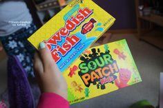 Swedish Fish + Sour Patch Kids
