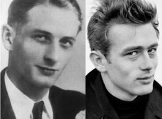 James Dean and his father Winton Dean. He may not look exactly like him, but there definitely are similarities. Great Father, Father And Son, James Dean Fotos, James Dean Pictures, Rebel Without A Cause, Jimmy Dean, Actor James, Vintage Hollywood, Actors