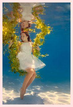 水中アート写真 - Google 検索