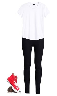 Untitled #11 by rileyyyyyyyyy on Polyvore featuring polyvore, fashion, style, Rodarte and Converse