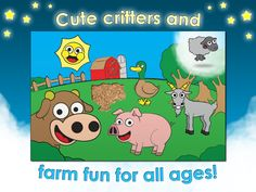 Cute critters and farm fun for all ages!