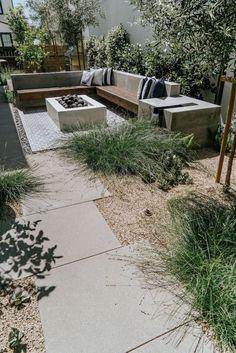 Backyard Patio Designs, Small Backyard Landscaping, Modern Landscaping, Backyard Ideas, Backyard Pools, Landscaping Ideas, Desert Backyard, Patio Ideas, Back Gardens