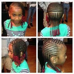 Lil Girl Hairstyles, Black Kids Hairstyles, Natural Hairstyles For Kids, Kids Braided Hairstyles, Natural Hair Styles, Children Hairstyles, Princess Hairstyles, Holiday Hairstyles, Protective Hairstyles