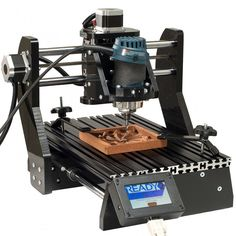5/2/15 - 21st Century Woodworking Day: CNC Piranha Demo at 11 AM. Find a store near you: http://www.rockler.com/retail/stores CNC machines have grown in popularity and have evolved to meet the budget and size restrictions of a smaller shop. The CNC Piranha is a good example of a compact, but powerful CNC machine. Stop by to see how one is used as well as how it's set up. We'll answer questions as the CNC Piranha works at routing complicated pieces.