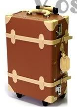 "Hot Sale!Wholesale 12"" 20"" 24"" Vintage Luggage Case Rolling Wheel Suitcase 