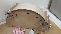 自作楽器研究所|Homemade Instruments 自作楽器の紹介をします。Homemade Instruments And Strange Musical Instruments. 熱湯で木を曲げる方法:後半戦|自作ティンパニフレームドラムの製作。 今回は慎重に二回に分けてやった。その二回目。ちゃんとやるなら、一回に一枚曲げて乾くのを待ったほうがいいと思う。 How to bend a tree with boiling water: Latter half of a game | The production of one's own timpani frame drum. http://www.homemadeinstruments.kandamori.net/2017/03/blog-post.html #音楽 #楽器 #ギター #ドラム #ベース #太鼓 #パーカッション #自作楽器 #アンプ #diy #Amp #GuitarAmp #BassAmp #Music #musical #instrument #guitar #drum #bass…