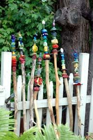 Personalized Walking Sticks Kids Crafts Decorate With