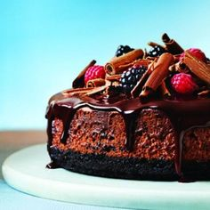 From a salted caramel and chocolate tart, to warm puddings and airy soufflés, here are all the decadent chocolate dessert recipes you need. Triple Chocolate Cheesecake, Decadent Chocolate, Delicious Chocolate, Chocolate Desserts, Chocolate Angel, Chocolate City, Best Cake Recipes, Dessert Recipes, Cupcake Recipes