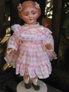 Hand sculpted RARE Porcelain Doll Vintage Porcelain Dolls, Never Grow Up, Sculpting, Harajuku, Victorian, Collection, Fashion, Moda, Sculpture