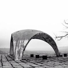 """b-a-c-u: """" Bus Stop no.12, Network of bus stations, Tajikistan, built in the late 70-s. © BACU """""""