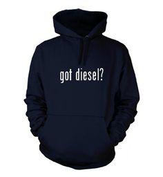 got diesel? Funny Hoodie Navy Blue XX-Large