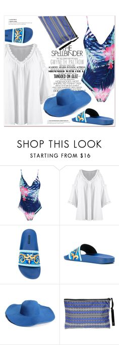 """Beach"" by nerma10 ❤ liked on Polyvore featuring Gwyneth Shoes, Dolce&Gabbana and Sophia"