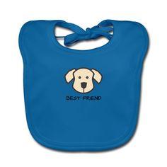 Hundefreund - Best Friends Baby Bio-Lätzchen  Weiches Lätzchen für Babys, 100% Baumwolle, Marke: Continental Clothing Continental, Best Friends, Lunch Box, Design, Pet Dogs, Cotton, Beat Friends, Bestfriends