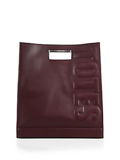 "3.1 Phillip Lim ""Totes Amaze"" Cutout-Handle Tote"