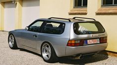 """...to see how quick """"944 water pump"""" came up. And then I saw this. A 944 Wagon."""